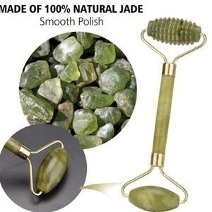 New All Natural Jade Portable Anti-aging Roller